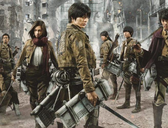 Fotos de Las películas live action de Attack on Titan ya se encuentran en Netflix