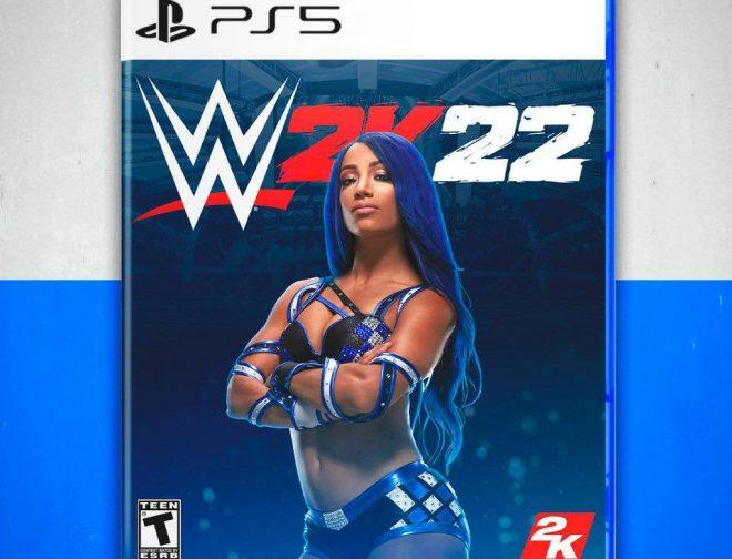 Fotos de Sasha Banks y Drew  McIntyre podrían tener su portada en el juego WWE 2K22