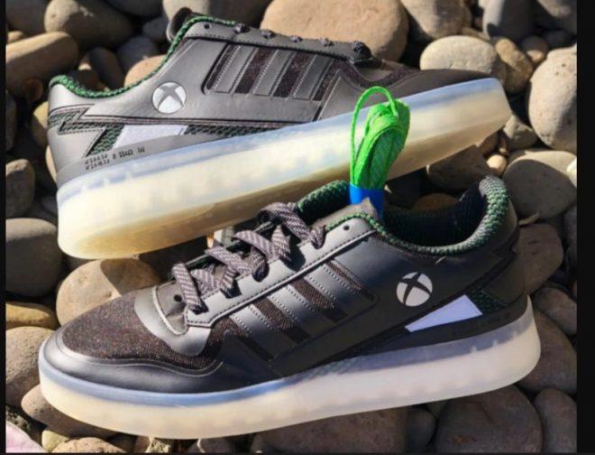 Fotos de Primer vistazo a las zapatillas Forum Tech Boost de la colección Xbox x Adidas