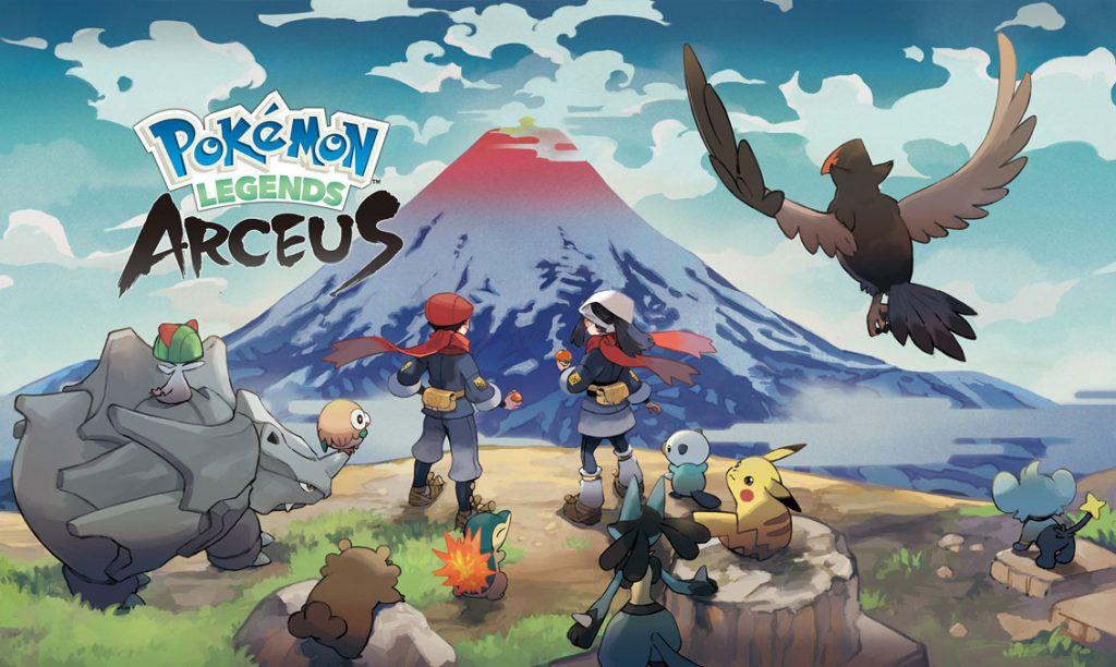 Foto de Fecha de lanzamiento de Pokemon Legends: Arceus