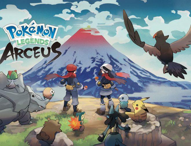 Fotos de Fecha de lanzamiento de Pokemon Legends: Arceus