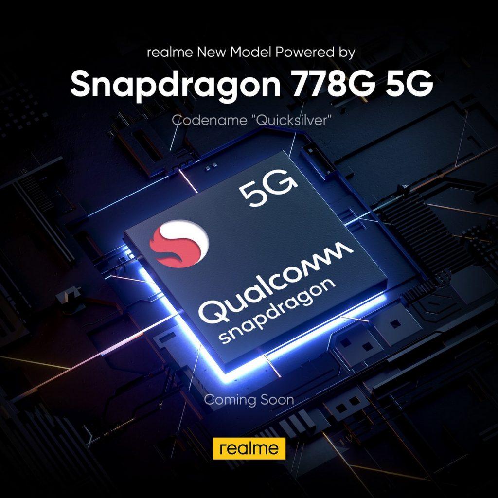 Foto de realme anuncia proximo smartphone con el chip Snapdragon 778G 5G