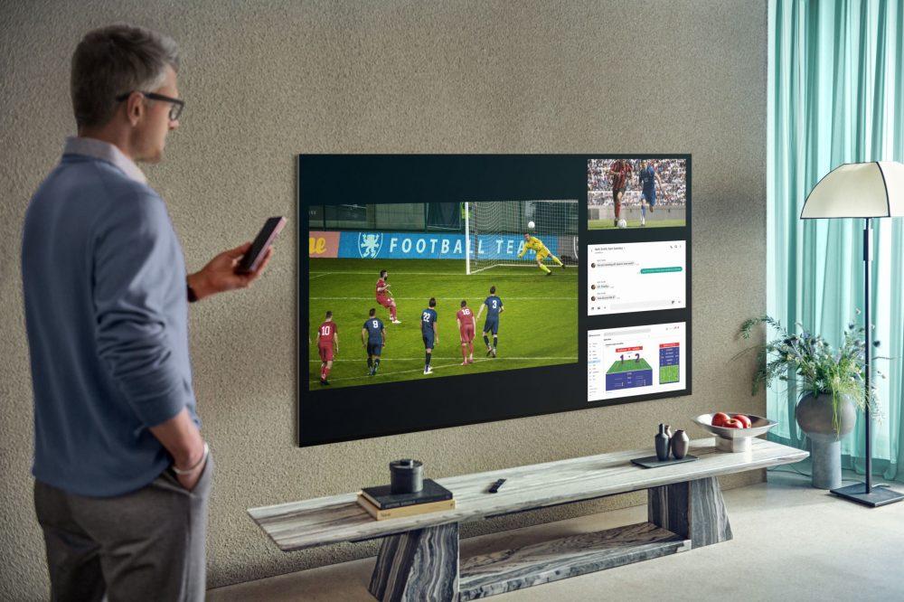 Foto de Mira hasta 4 contenidos simultáneamente con la nueva función Multi-view de Samsung