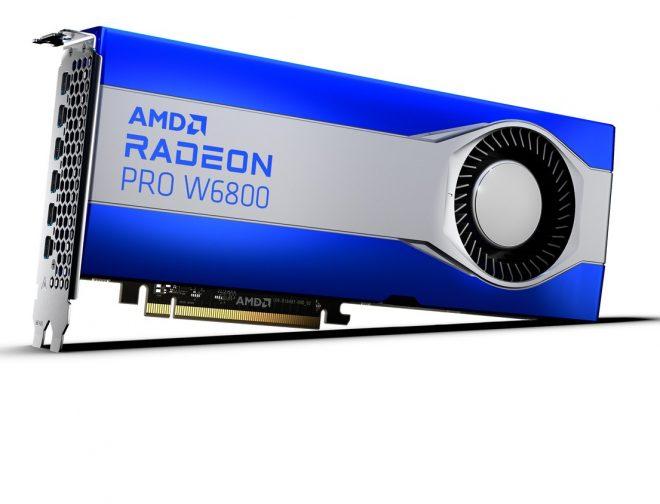 Fotos de AMD presenta las nuevas tarjetas gráficas Radeon PRO Serie W6000