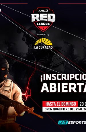 Foto de Inician las inscripciones para el torneo de CS:GO de la AMD Red League