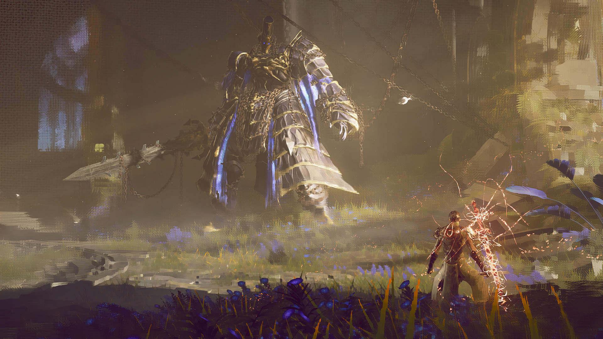 Foto de Tráiler y nuevos datos de Babylon's Fall, nuevo juego de PlatinumGames