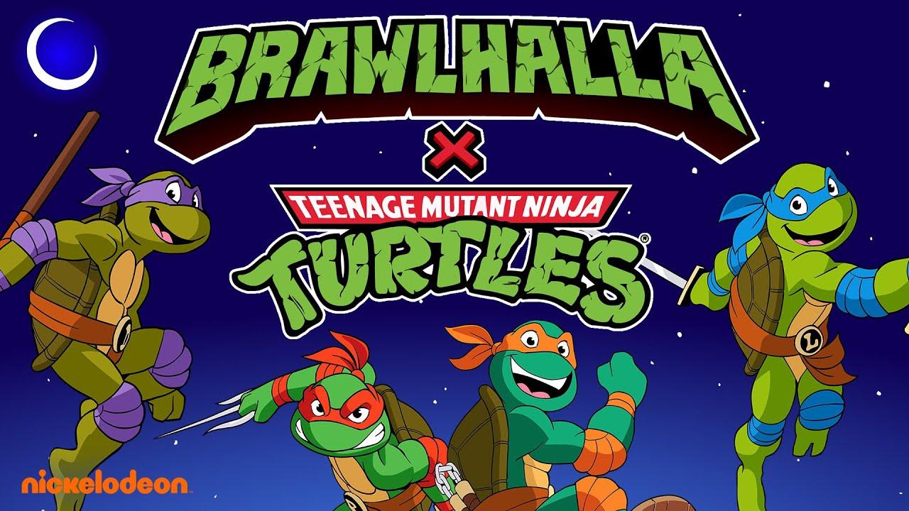 Foto de Ubi Forward 2021: Simpático tráiler y gameplay del crossover, Brawlhalla: Teenage Mutant Ninja Turtles