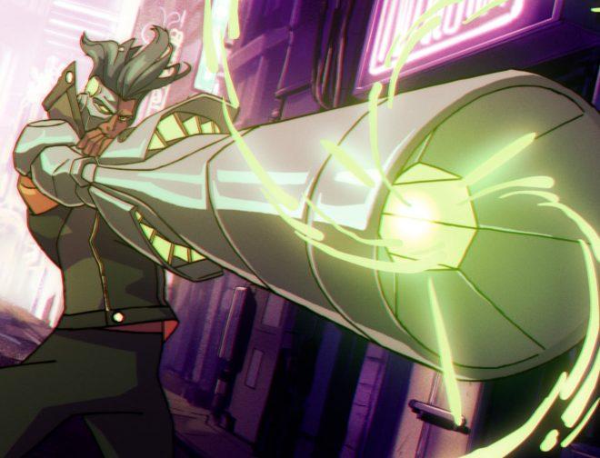 Fotos de Ubisoft y Netflix dan el primer vistazo al anime Captain Laserhawk: A Blood Dragon Remix