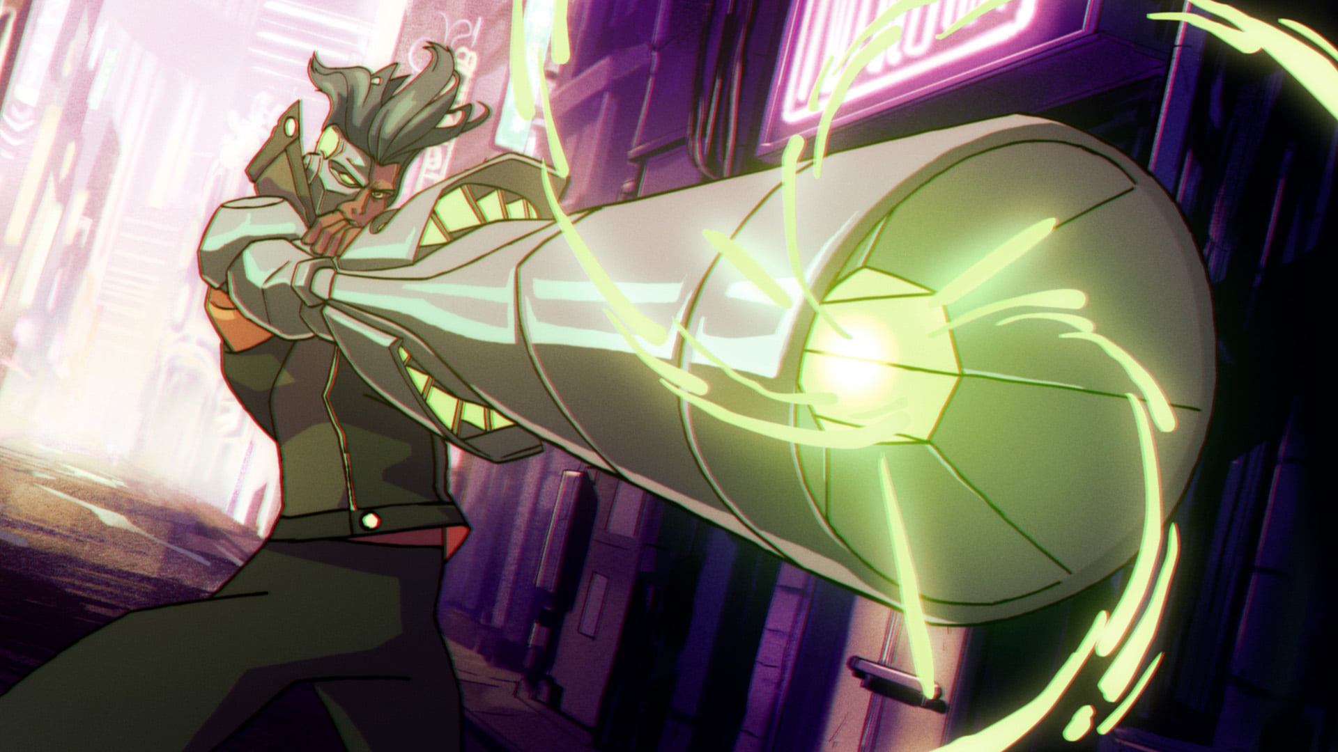 Foto de Ubisoft y Netflix dan el primer vistazo al anime Captain Laserhawk: A Blood Dragon Remix