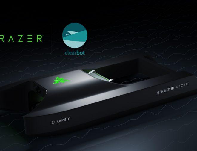 Fotos de Razer x ClearBot, la alianza para limpiar los océanos de forma inteligente