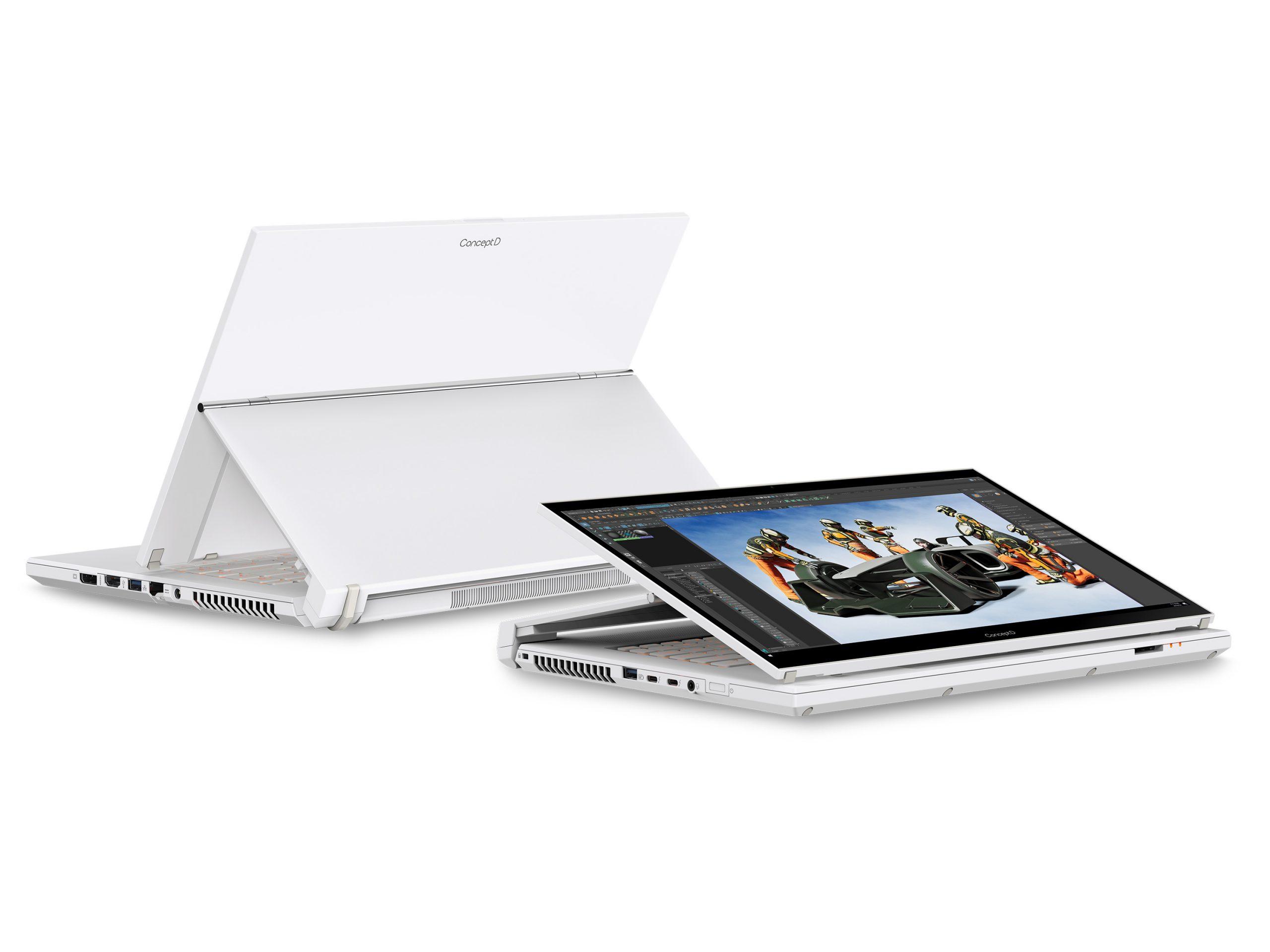 Foto de Acer: Las nuevas ConceptD son más potentes, gracias al nuevo procesador de Intel y al GPU de NVIDIA RTX
