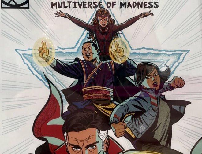 Fotos de Primer arte promocional Doctor Strange In The Multiverse Of Madness