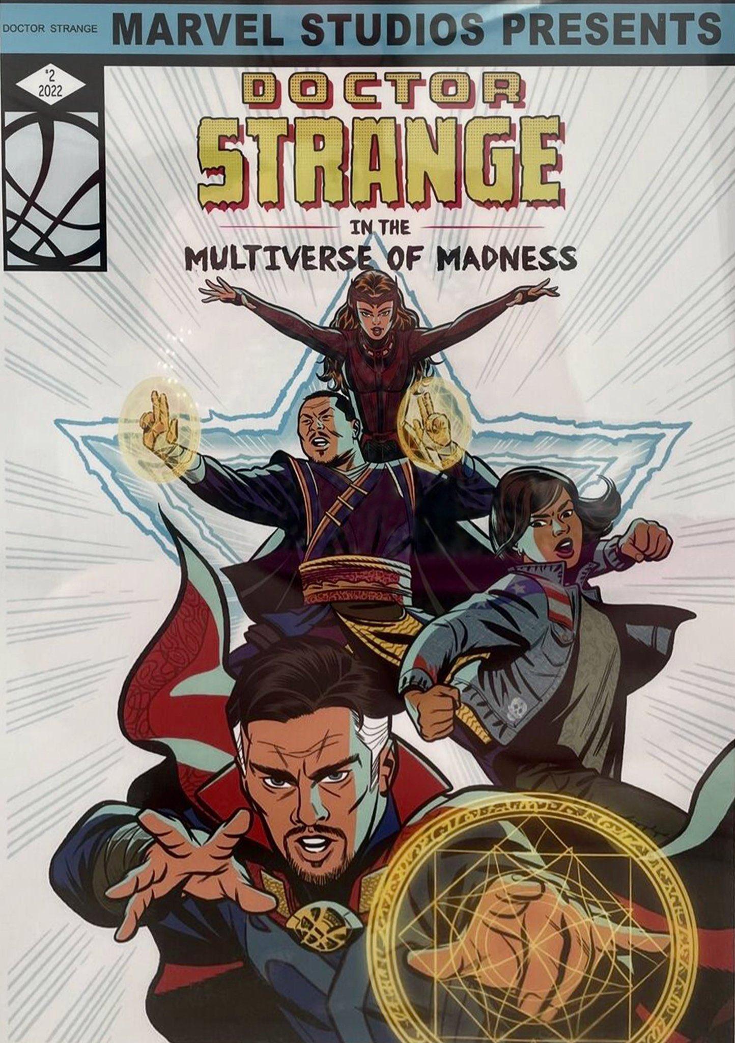 Foto de Primer arte promocional Doctor Strange In The Multiverse Of Madness