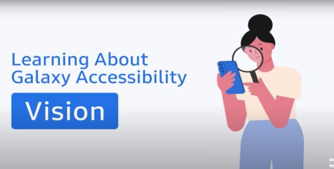 Fotos de Galaxy para todos: Samsung hace que las experiencias móviles sean accesibles para todos