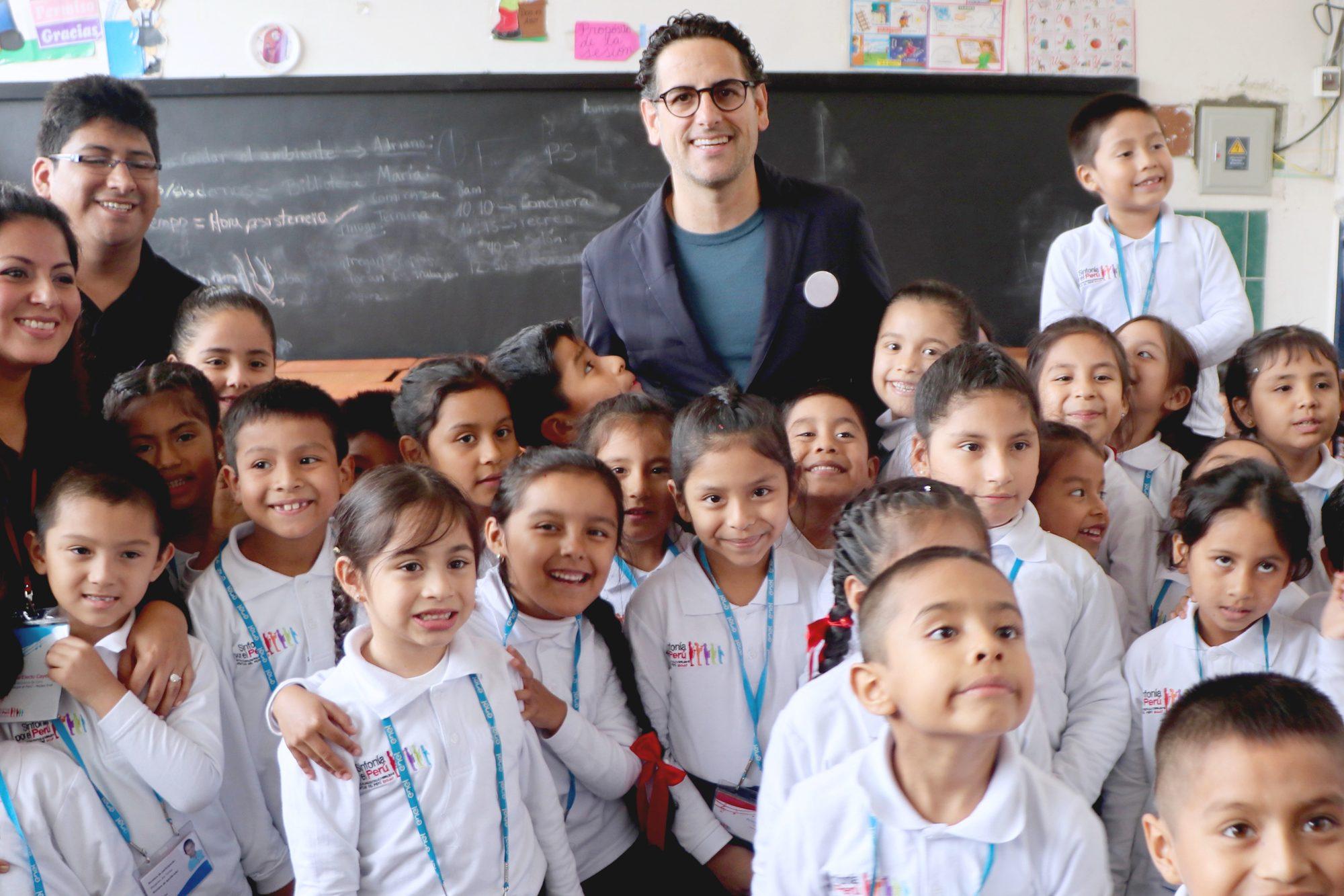 Foto de El trabajo de Sinfonía por el Perú contribuye a reducir el trabajo infantil
