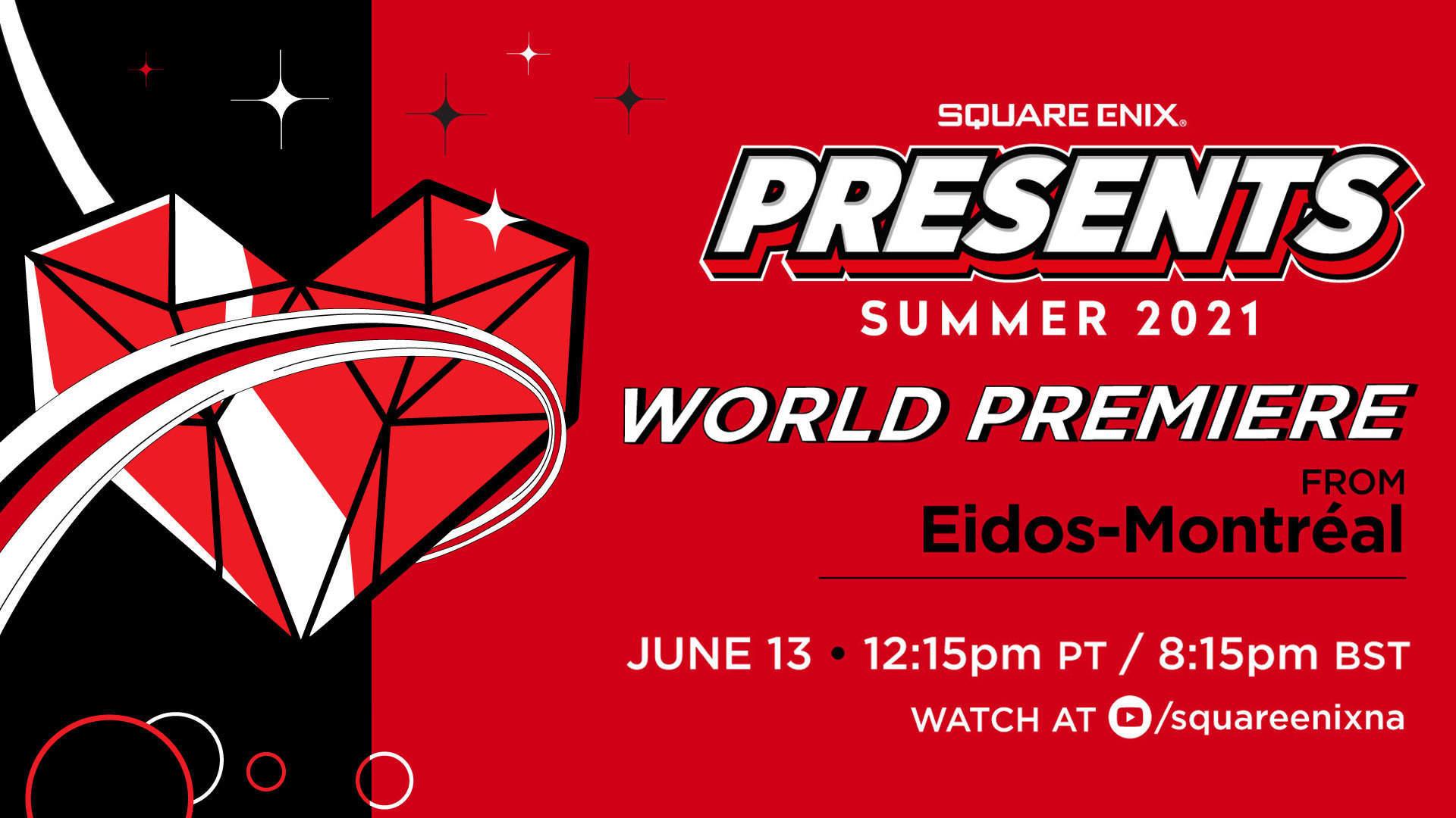 Foto de Fecha y horario del evento online Square Enix Presents en el E3 2021
