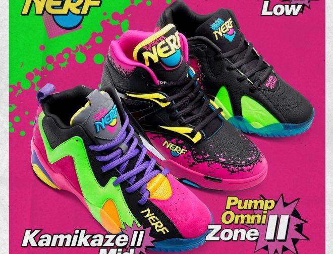 Fotos de Se lanza la colección de zapatillas NERF x Reebok