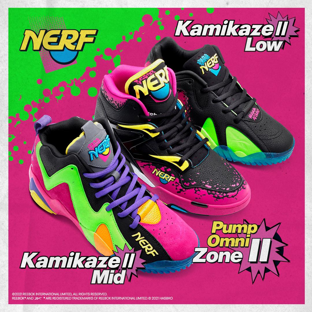 Foto de Se lanza la colección de zapatillas NERF x Reebok