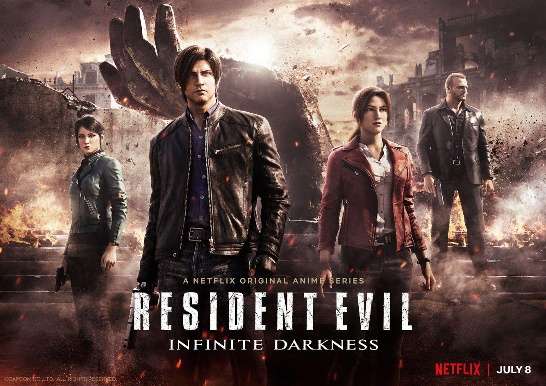 """Foto de Netlix comparte un nuevo avance y fecha de estreno de """"Resident Evil: La tiniebla infinita"""""""