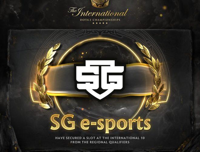 Fotos de El equipo brasileño de SG e-sports clasifica a The International 10