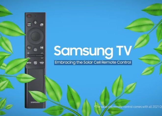 Fotos de Reduce el desperdicio de baterías desechables con el control remoto SolarCell de Samsung