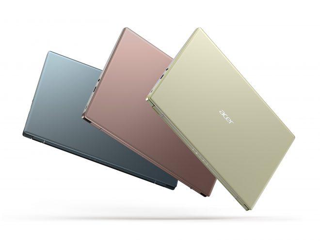 Fotos de La nueva laptop Swift X, llega con GPU para NVIDIA GeForce RTX serie 30 en un diseño delgado y liviano