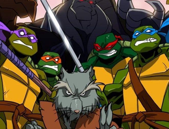 Fotos de Seth Rogen confirma que la nueva película de las Tortugas Ninja se estrenará en el año 2023