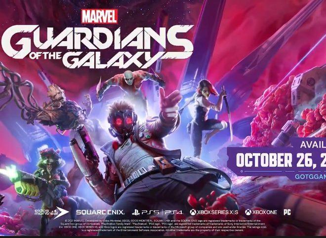 Fotos de E3 2021: Square Enix da a conocer el videojuego Marvel's Guardians of the Galaxy