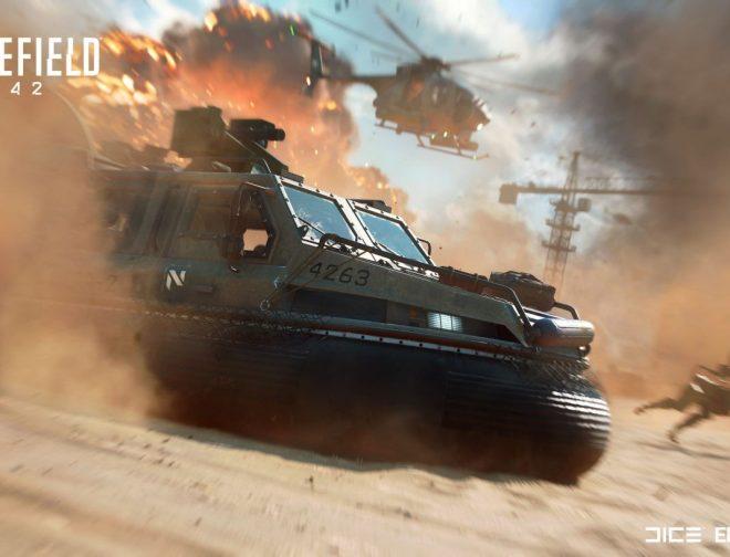 Fotos de Electronic Arts lanza un emocionante tráiler de Battlefield 2042
