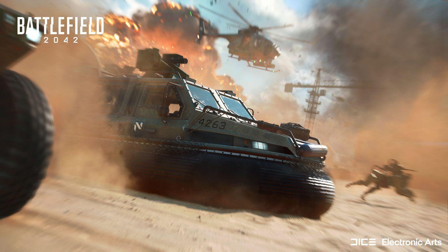 Foto de Electronic Arts lanza un emocionante tráiler de Battlefield 2042
