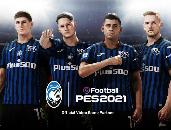 Fotos de Atalanta x eFootball PES 2021, la asociación entre el club italiano y Konami