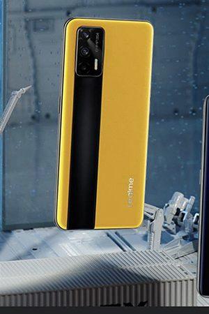 Foto de realme presentó de manera oficial su asombroso GT 5G al mercado global