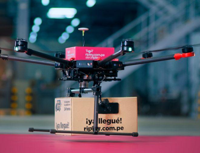 Fotos de AeroRipley: el proyecto piloto de delivery con drone para compras online
