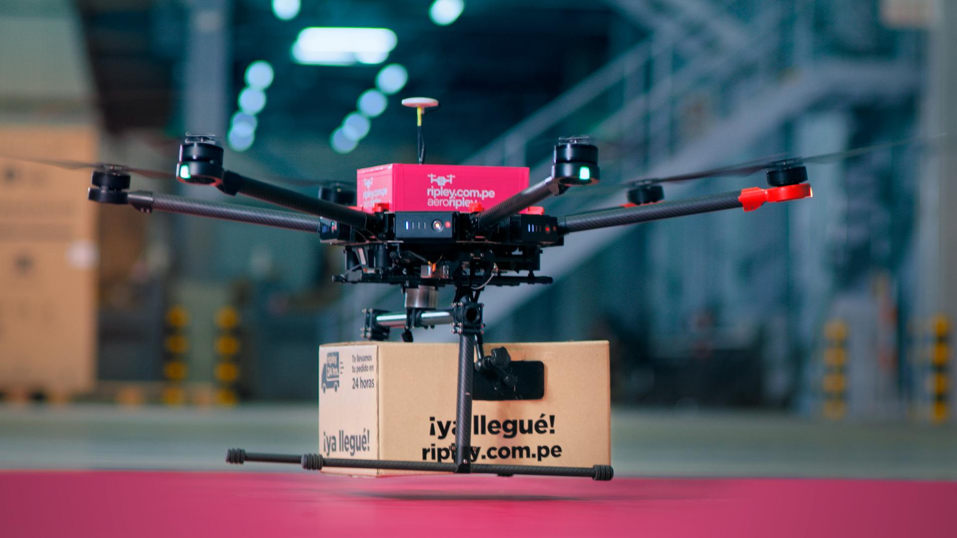 Foto de AeroRipley: el proyecto piloto de delivery con drone para compras online