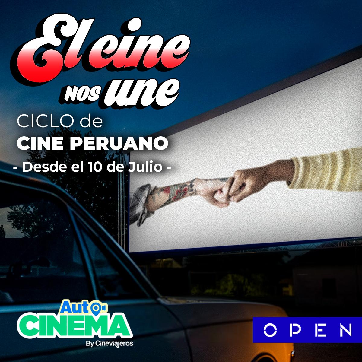 Foto de Autocinema Cineviajeros de Open, reabre sus puertas de cara al Perú del Bicentenario