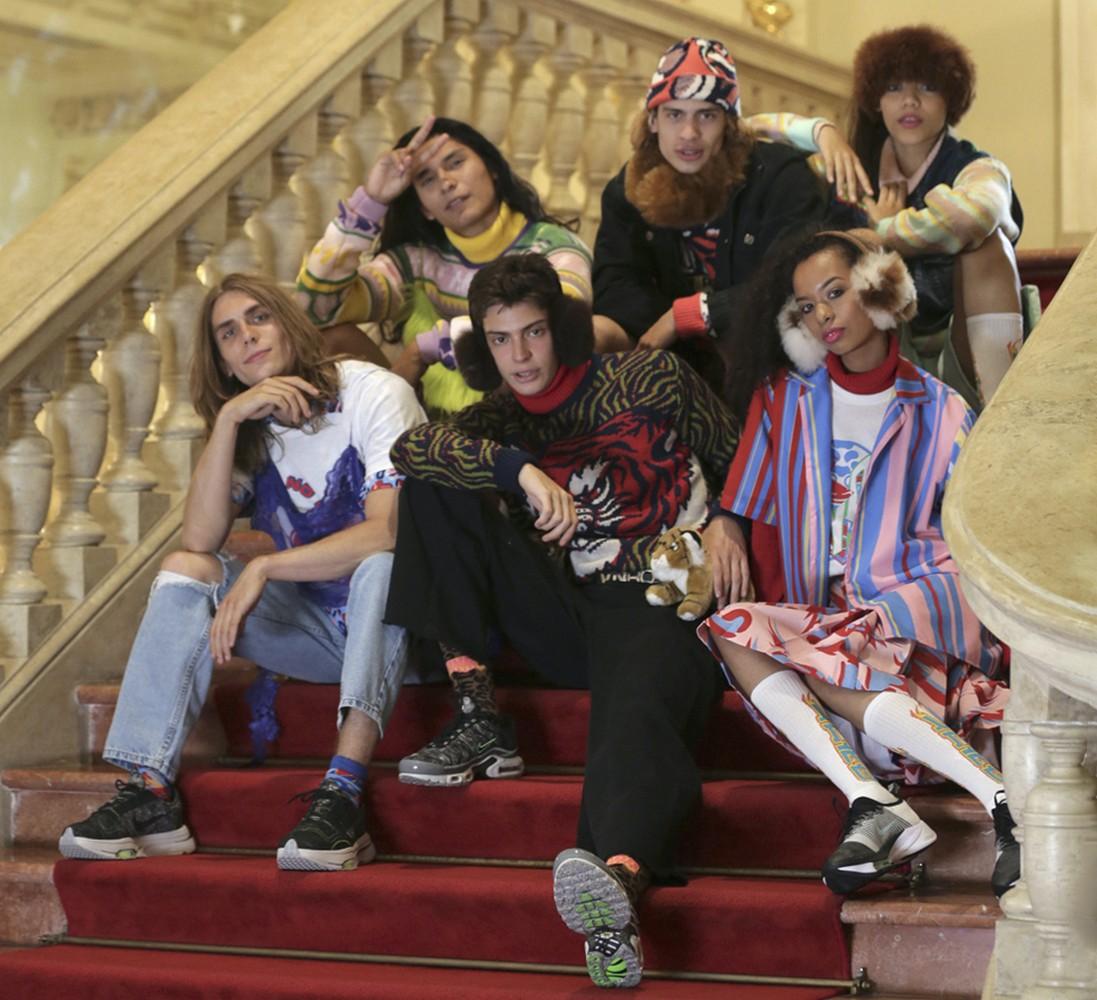 Foto de MTVxVNRO, colección de moda colorida, sin género y con mucho sentimiento peruano