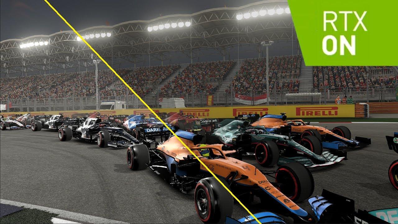 Foto de F1 2021 sale a la venta con ray tracing y NVIDIA DLSS, el rendimiento aumenta un 65% a 4K