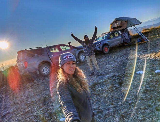 Fotos de Fernanda Kanno y Alonso Carrillo culminarán su ruta por el Perú sobre 4 ruedas