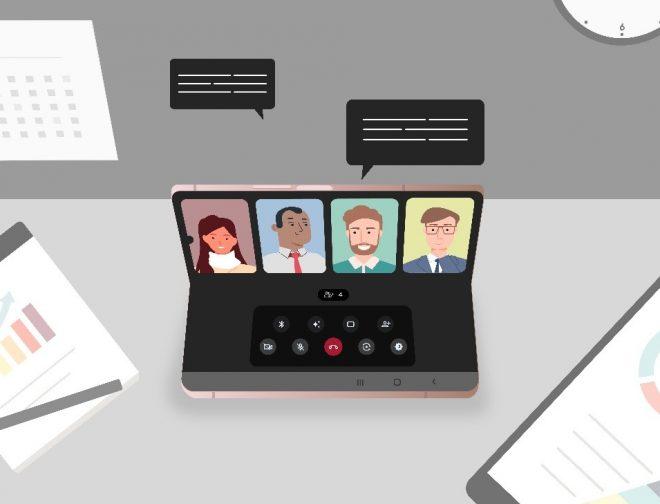 Fotos de 5 razones que los emprendedores y ejecutivos destacan del Galaxy Z Fold2