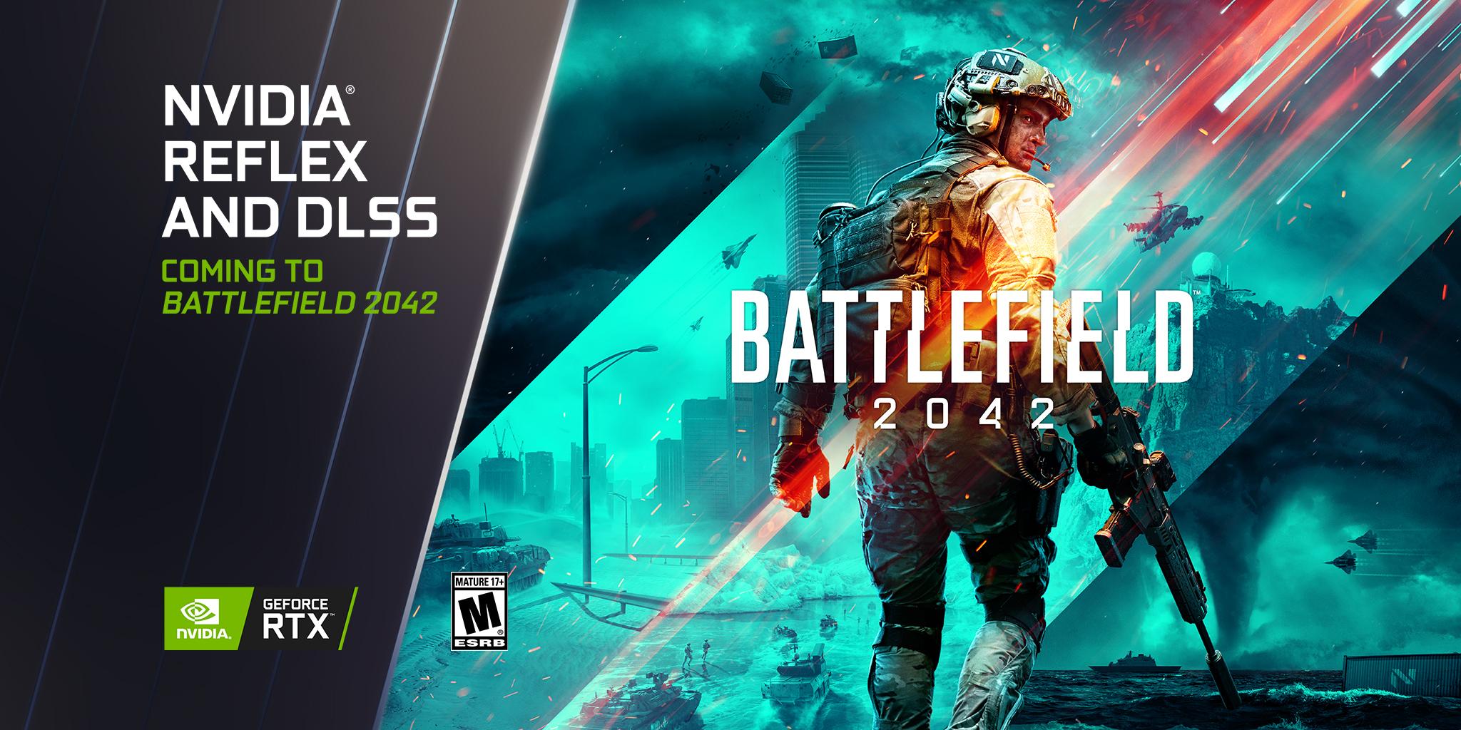 Foto de NVIDIA y Logitech son los colobadores oficiales de Battlefield 2042