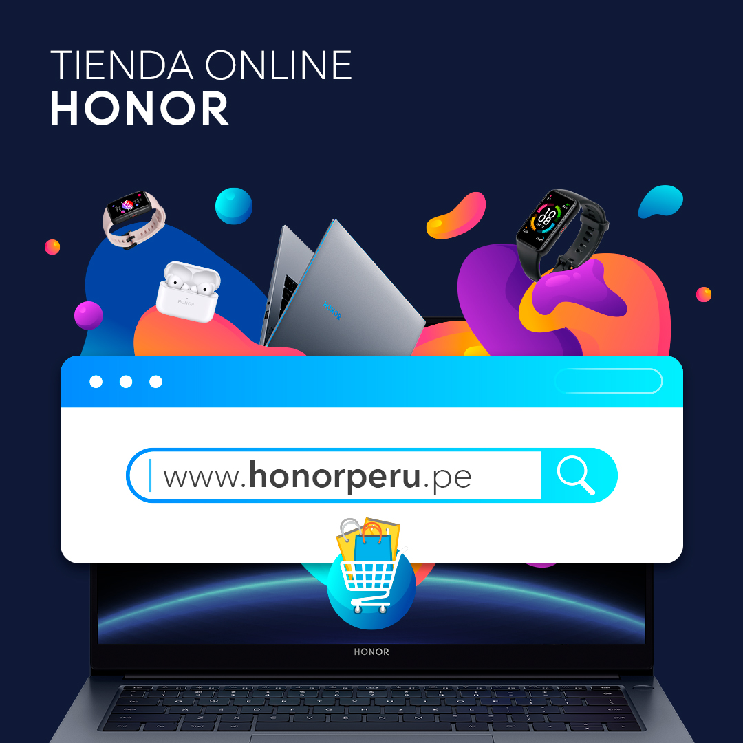 Foto de La marca de tecnología HONOR presenta en Perú su propio e-commerce