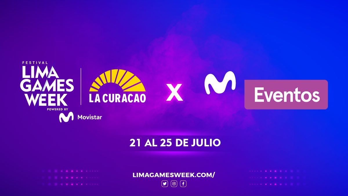 Foto de El festival Lima Games Week 2021 será transmitido por Movistar Eventos
