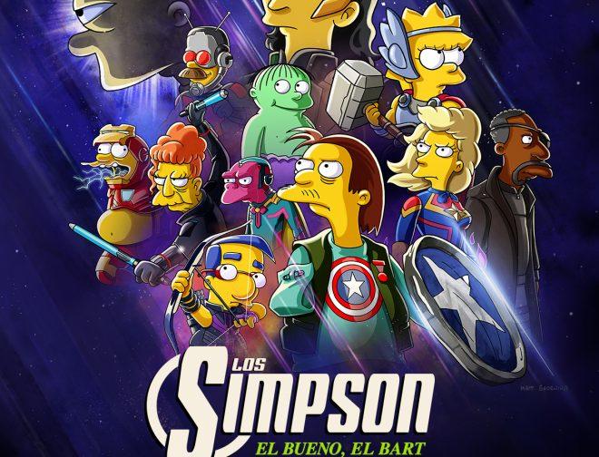Fotos de El Bueno, El Bart y El Loki, un nuevo corto de Los Simpson, inspirado en el Universo Cinematográfico de Marvel