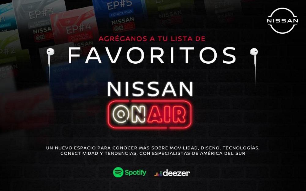 Foto de Nissan ON AIR: Llega la primera temporada del podcast creado en Latinoamérica