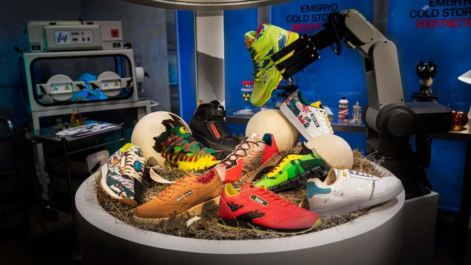 Foto de Primer vistazo a la colección de zapatillas Jurassic Park x Reebok