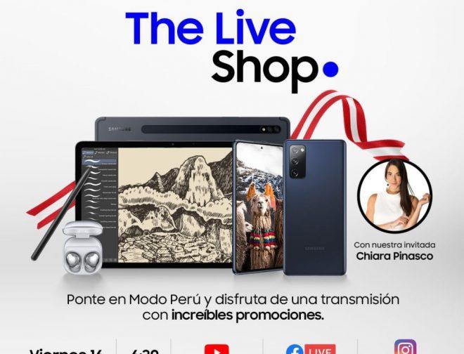 Fotos de Samsung Live Shop: ¡Ponte en Modo Perú y engríete en estas Fiestas Patrias!