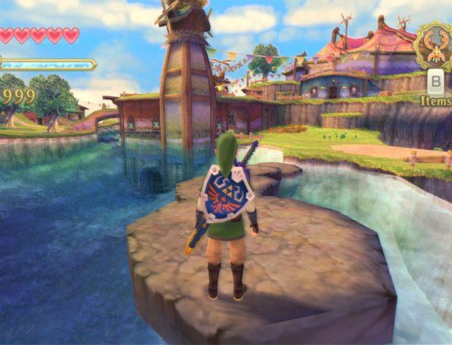Fotos de Nuevos avances del esperado juego The Legend of Zelda: Skyward Sword HD