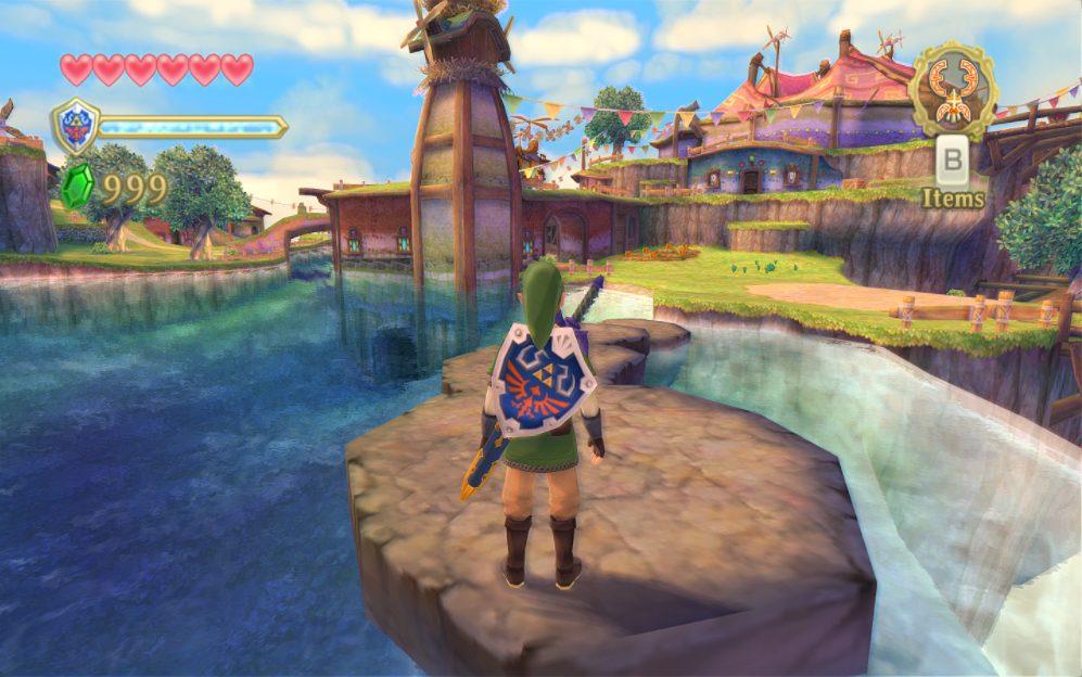 Foto de Nuevos avances del esperado juego The Legend of Zelda: Skyward Sword HD