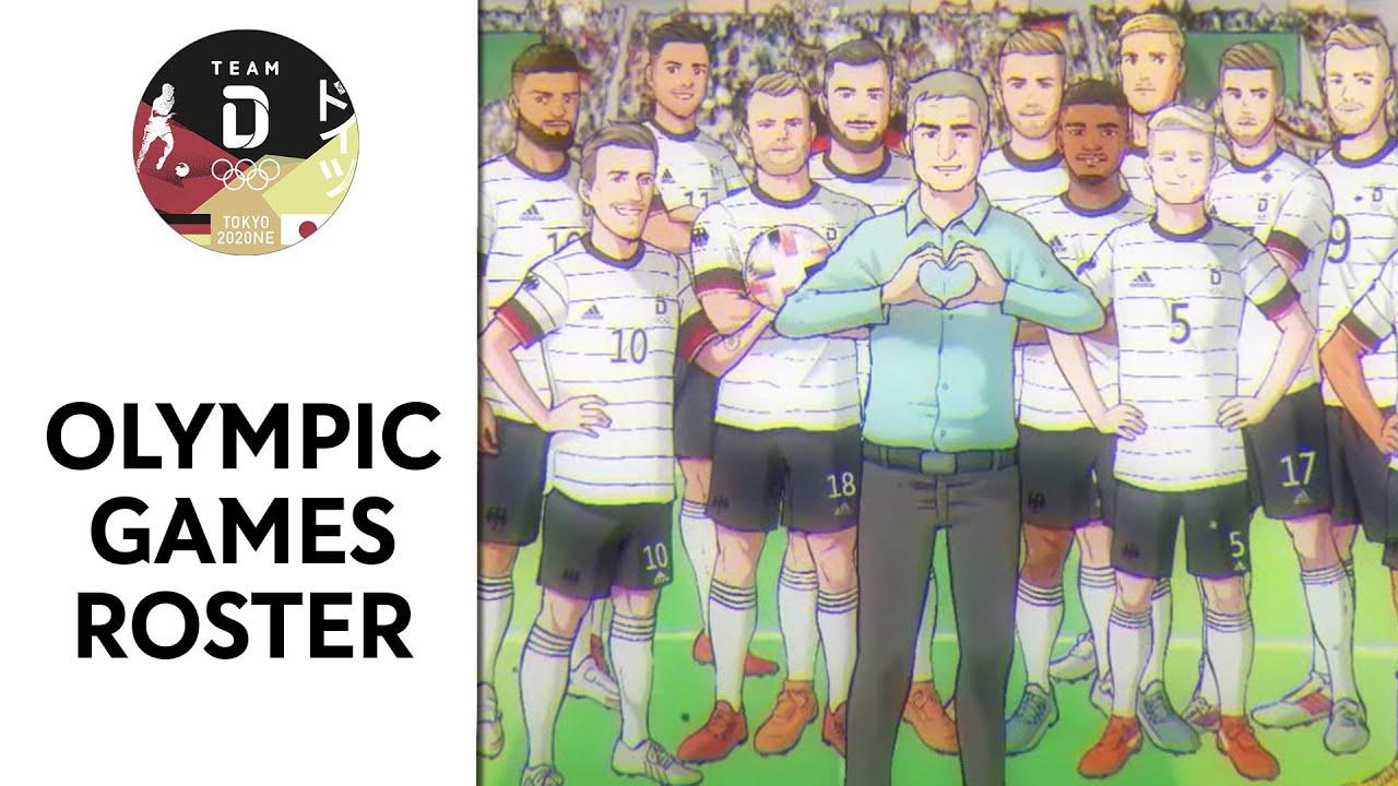 Foto de Alemania presentó a su selección de fútbol para los Juegos Olímpicos al estilo de los Súper Campeones
