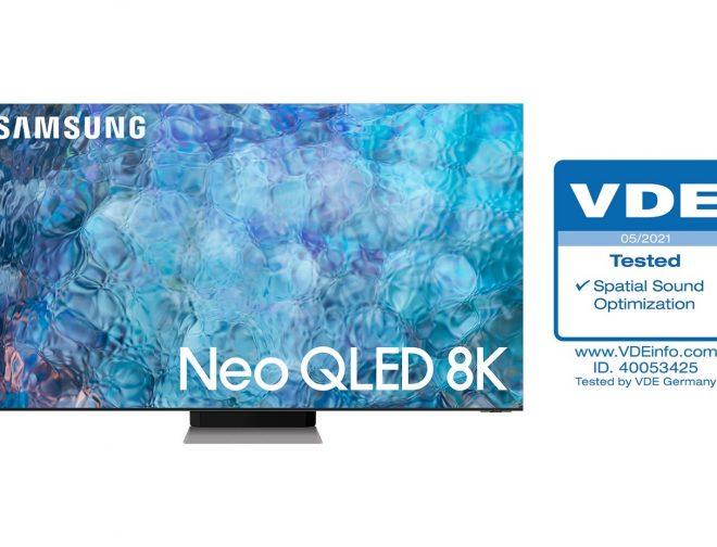 Fotos de Televisores Neo QLED de Samsung obtienen la certificación de 'Spatial Sound Optimization' de VDE
